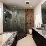 Bathroom with Marble