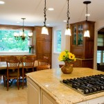 Custom Kitchen Island in MD Home