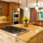 Custom Countertops in Kitchen