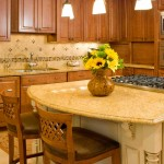 Wood Cabinets in New Kitchen Design