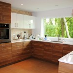 Modern White Wood Kitchen