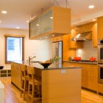Hardwood Light Color Kitchen in DC Home