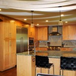 Traditional Kitchen Design in MD Home
